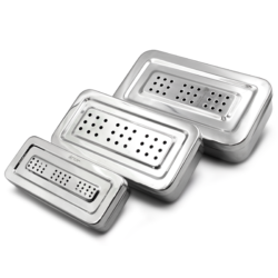 Caja Para Esterilizar Perforada -Marca: 6B Germany Organizadores | Odontology BG