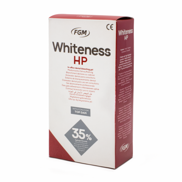 Whiteness HP 35% Kit -Marca: FGM Blanqueamiento | Odontology BG