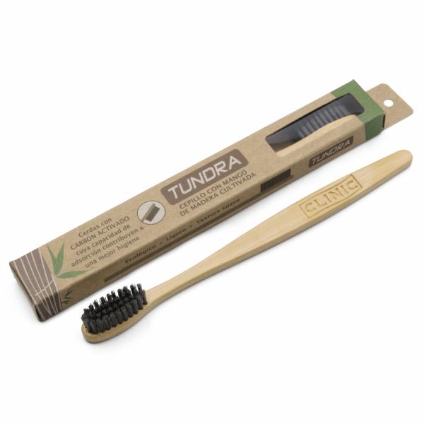 Cepillo Tundra Bambú -Marca: Laboratorios Clinic Higiene | Odontology BG