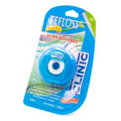 Hilo Dental TeFloss -Marca: Laboratorios Clinic Higiene | Odontology BG