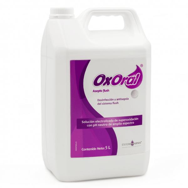Oxoral Aseptic Flush -Marca: Esteripharma Esterilización | Odontology BG