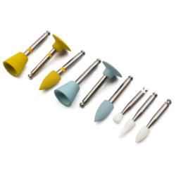 Kit Pulido de Porcelana RA0409 -Marca: Genérica Abrasivos | Odontology BG
