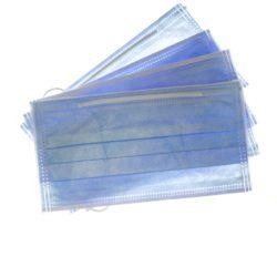 Cubrebocas Azul -Marca: SUNSET Control De Infecciones | Odontology BG