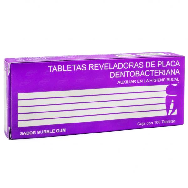 Tableta Reveladora De Placa Dentobacteriana -Marca: Viarden Profilaxis | Odontology BG