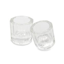 Godete De Cristal Transparente -Marca: UNION Instrumental de Laboratorio | Odontology BG
