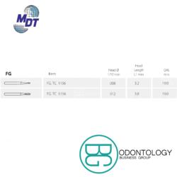 Fresa de Carburo FG Domo -Marca: MDT Abrasivos   Odontology BG