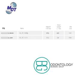Fresa de Carburo FG Torpedo -Marca: MDT Abrasivos   Odontology BG