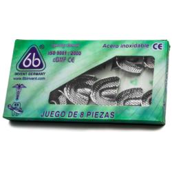 Cucharillas Metálicas Perforadas Infantil -Marca: 6B Germany Instrumental de Impresión | Odontology BG