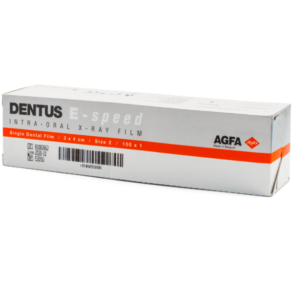 Rx Periapical AGFA Adulto -Marca: AGFA Rayos X | Odontology BG