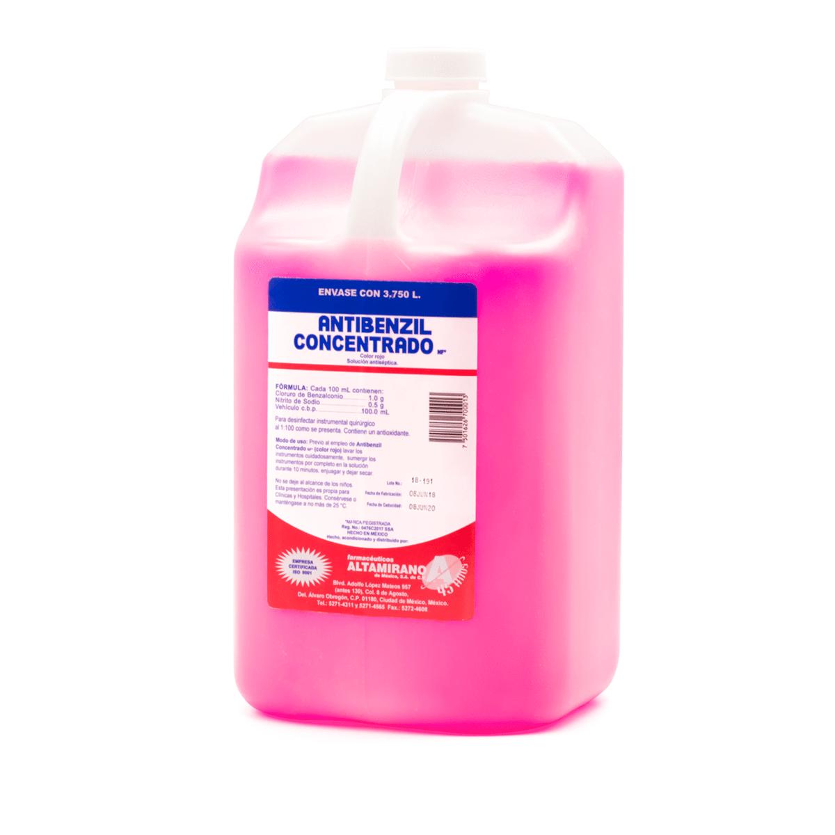 Antibenzil Concentrado Rojo -Marca: Altamirano Esterilización   Odontology BG