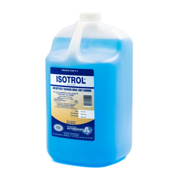 Enjuague Bucal Isotrol -Marca: Altamirano Higiene | Odontology BG
