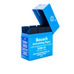 Papel Articular Azul BK01 -Marca: BAUSCH Desechables | Odontology BG