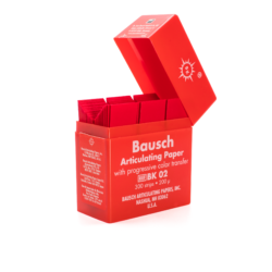 Papel Articular Rojo BK02 -Marca: BAUSCH Desechables | Odontology BG