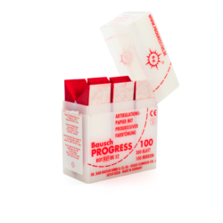 Papel Articular Rojo Progress 100 BK52 -Marca: BAUSCH Desechables | Odontology BG