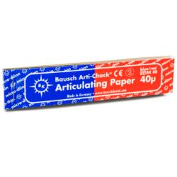 Papel Articular Bicolor Arti-Check BK80 -Marca: BAUSCH Desechables | Odontology BG
