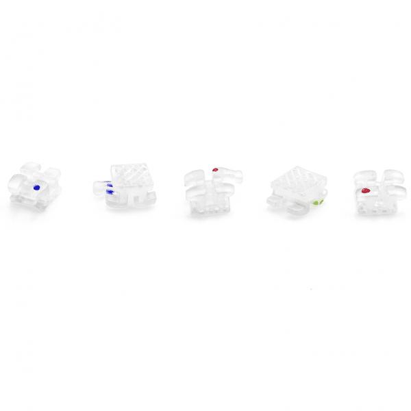 Piezas Sueltas Brackets Crystal Ceramic -Marca: ORALIUM Brackets | Odontology BG