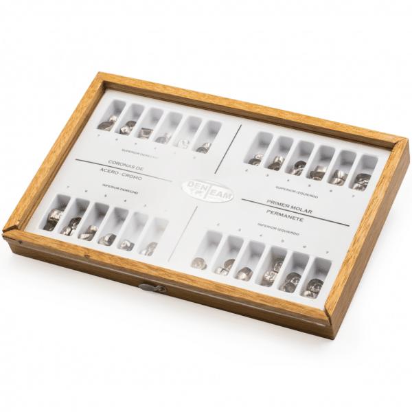Kit Coronas Molares Permanentes -Marca: DenTeam Coronas Prefabricadas   Odontology BG