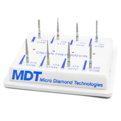 Kit Preparación de Corona -Marca: MDT Abrasivos   Odontology BG