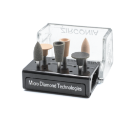 Kit de Pulido Para Zirconia -Marca: MDT Abrasivos   Odontology BG
