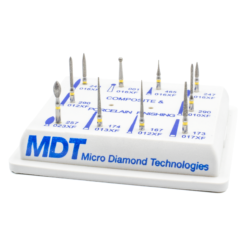 Kit Terminación Resina/Porcelana -Marca: MDT Abrasivos   Odontology BG