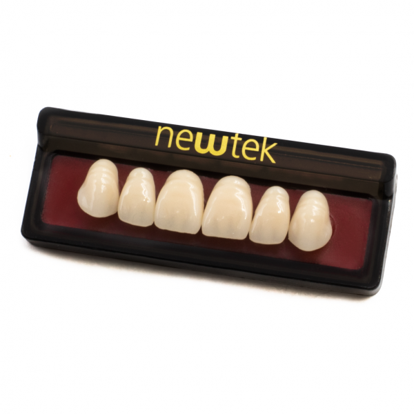 Dientes de Resina Anteriores - Superiores -Marca: new tek Consumibles de Laboratorio | Odontology BG