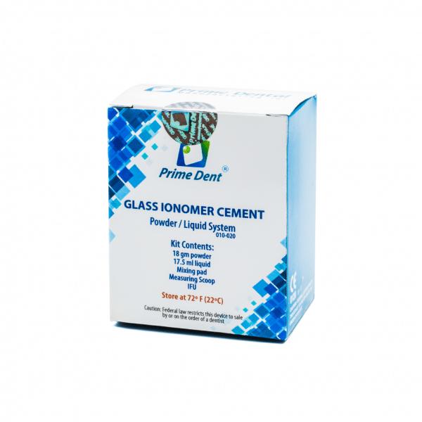 Ionómero de Vidrio Cemento -Marca: PRIME DENT Cemento | Odontology BG