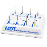 Kit Endodoncia Con 8 Fresas -Marca: MDT Abrasivos | Odontology BG